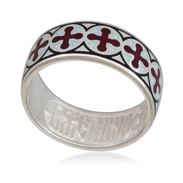 6 56 2s 600x600 - Кольцо «Византийское» (золочение), красная