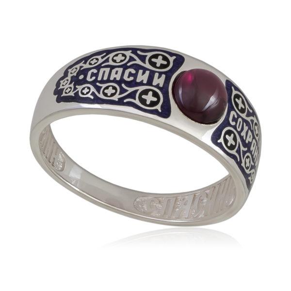 6 60 3s 600x600 - Перстень «Спаси и сохрани», черная
