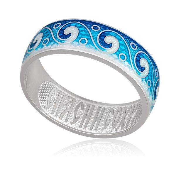 6 65 3s 1 600x600 - Кольцо «Меандр», синяя