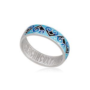 6 67 2s 1 300x300 - Кольцо из серебра «Державное», синяя