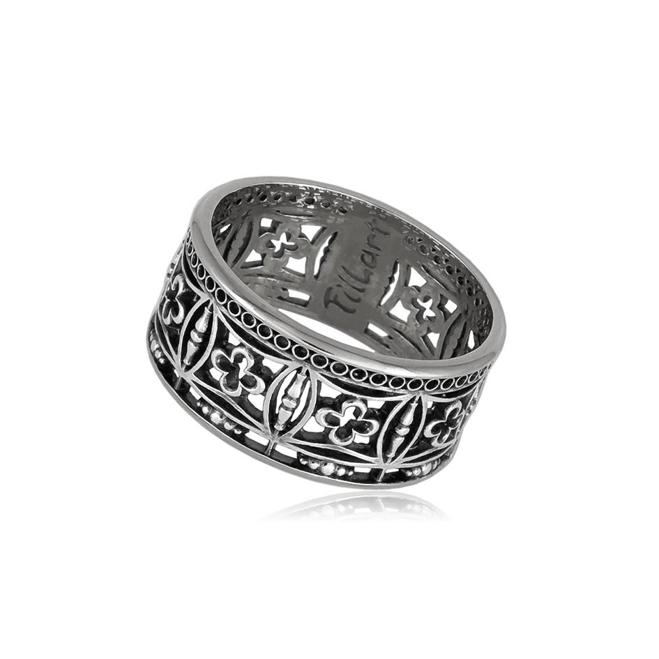 6 70 11s 1 - Кольцо из серебра «Петербург. Набережная Мойки»