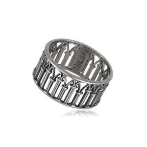 6 71 11s 1 300x300 - Кольцо из серебра «Петербург. Зимняя канавка»