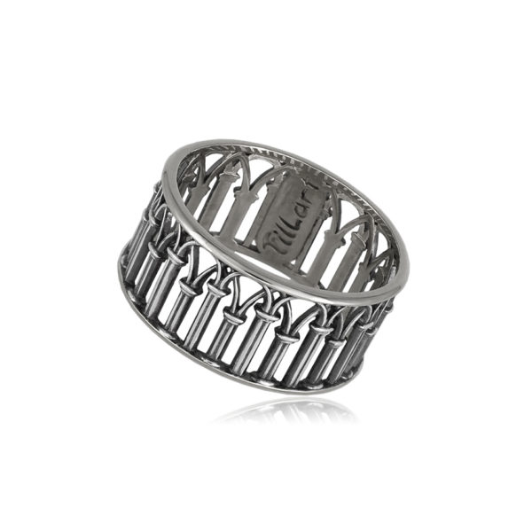 6 71 11s 1 600x600 - Кольцо из серебра «Петербург. Зимняя канавка»