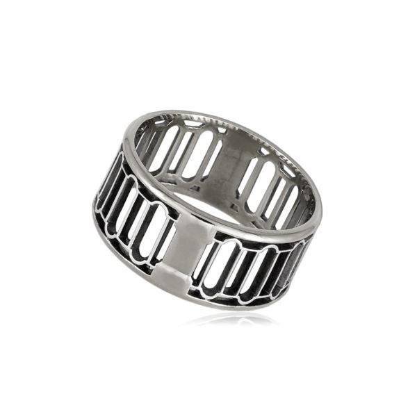 6 72 2s 1 600x600 - Кольцо из серебра «Петербург. Набережная Мойки»