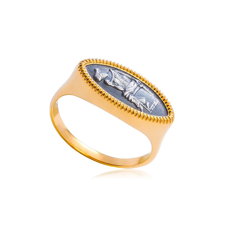 6 83 1 1 - Кольцо из серебра «Пенелопа»