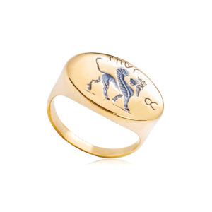 6 85 1 1 300x300 - Кольцо из серебра «Грифон»