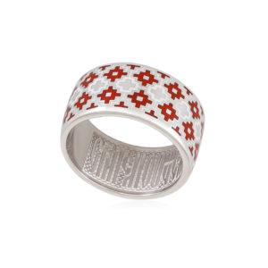 6 97 1s 1 300x300 - Кольцо из серебра «Мережка», красное