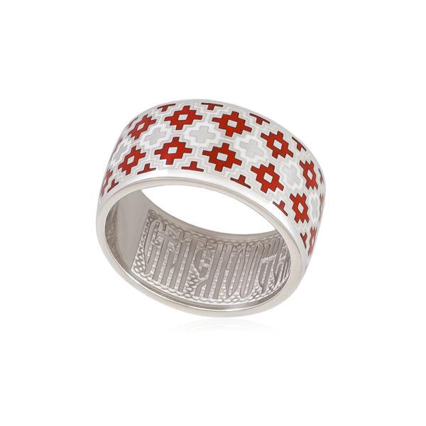 6 97 1s 1 600x600 - Кольцо из серебра «Мережка», красное