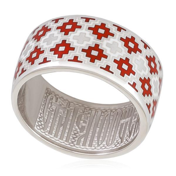 6 97 1s 600x600 - Кольцо «Мережка», красная