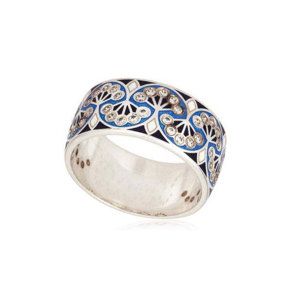 6 99 1s 1 1 600x600 - Кольцо «Сады Семирамиды», синее с фианитами