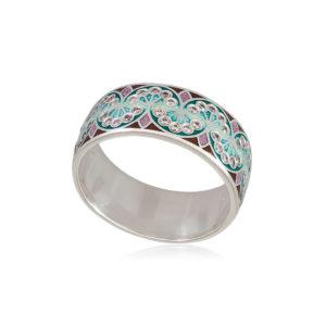 6 99 3s 1 300x300 - Кольцо из серебра «Сады Семирамиды», зеленое с фианитами