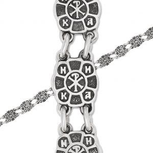 9 33 6 300x300 - Браслет из серебра «Голубки», бирюзовый