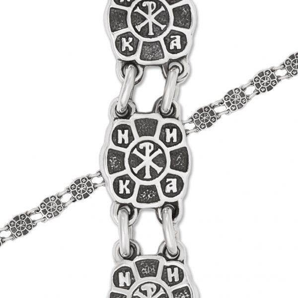 9 33 6 600x600 - Браслет из серебра «Голубки»
