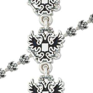 9 41 6 300x300 - Браслет из серебра «Голубки», бирюзовый