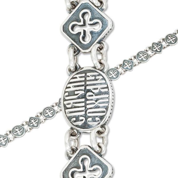 9 43 8 1 600x600 - Браслет из серебра «Венецианский»