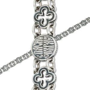 9 45 6 1 300x300 - Браслет из серебра «Византийский»