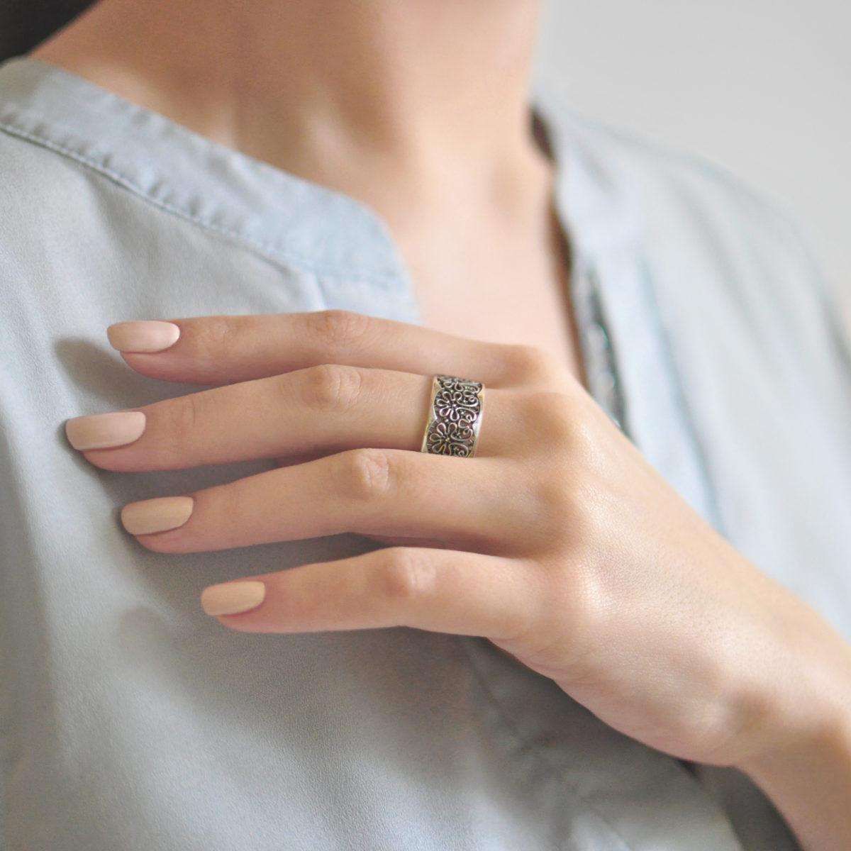 Кольцо «Вологодские Кружева»