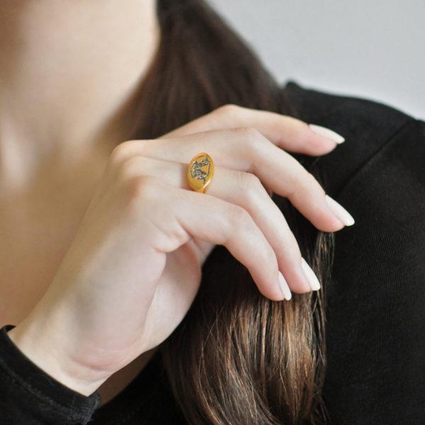 Zolochenie 3 600x600 - Кольцо «Единорог»