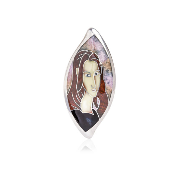 f01 056 01 2 1536x1536 1 600x600 - Серебряная подвеска «Жанна Эбютерн»