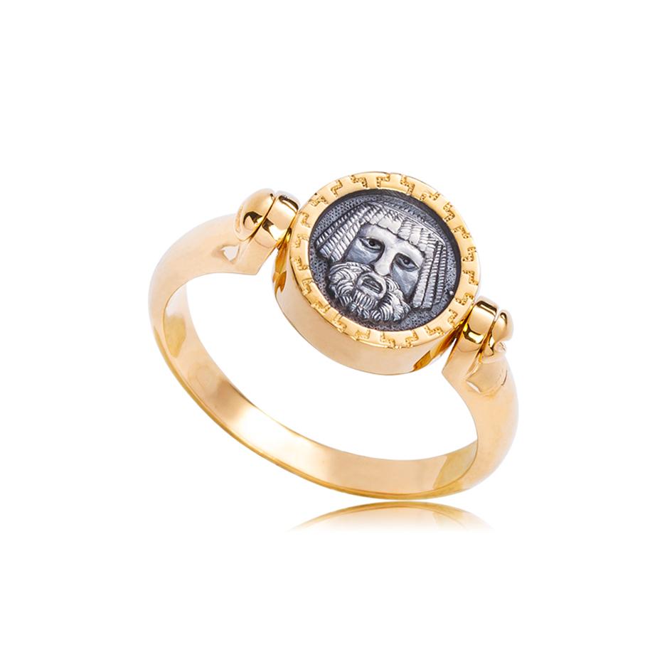 k2 1 1 - Кольцо из серебра «Вавилонец»