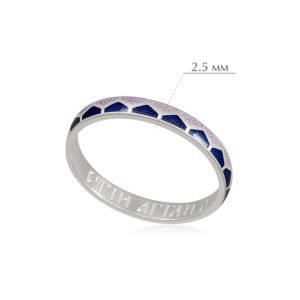 kolcza sedmicza 28 300x300 - Кольцо из серебра «Седмица», фиолетовая