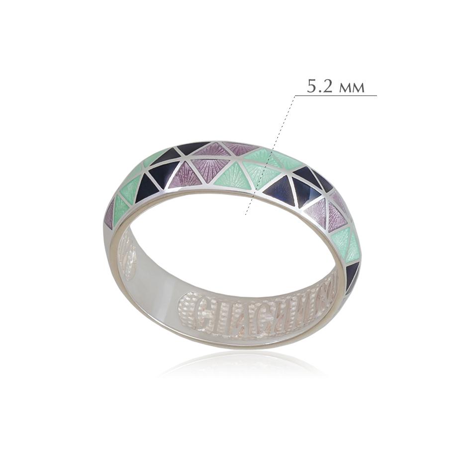 otrazhenie 1 - Кольцо из серебра «Отражение», трехцветное