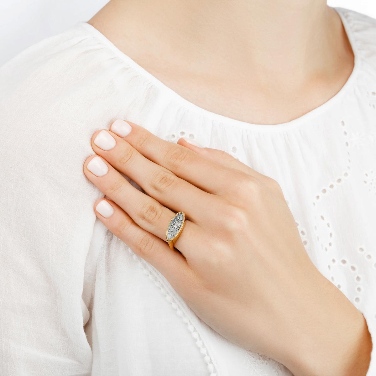 penelopa 1 - Кольцо из серебра «Пенелопа»