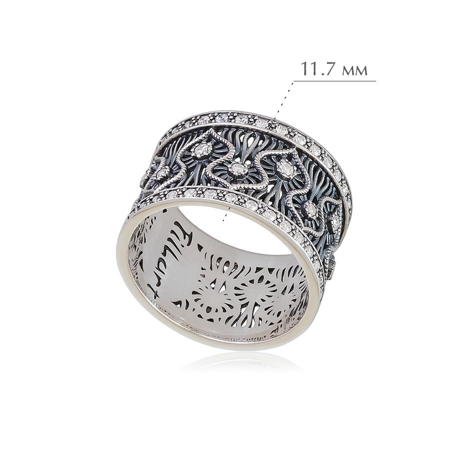 rishele 1 - Кольцо из серебра «Ришелье»