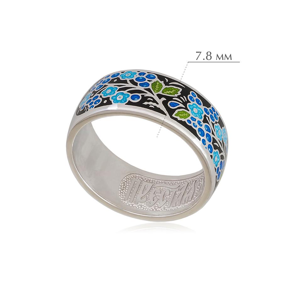 smorodinka 4 - Кольцо из серебра «Смородинка», черное
