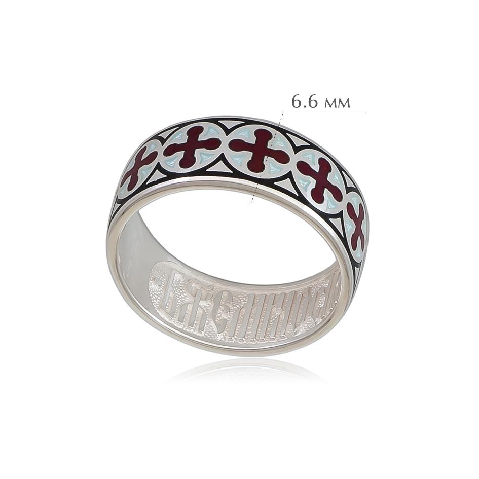 vizantijskoe 2 - Кольцо из серебра «Византийское», красное