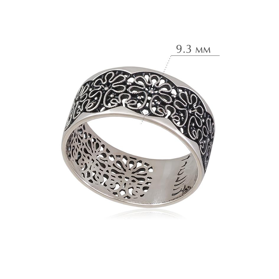 vologodskie - Кольцо из серебра «Вологодские Кружева»
