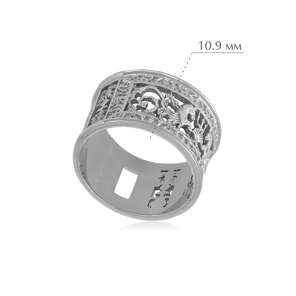 6.75 - Кольцо из серебра «Благовещенский мост»