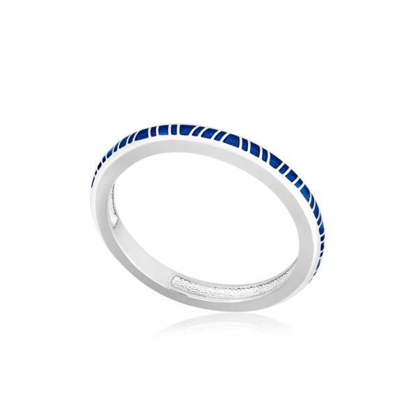 61 153 1s 1 600x600 - Кольцо из серебра «Принцесса на горошине», синее