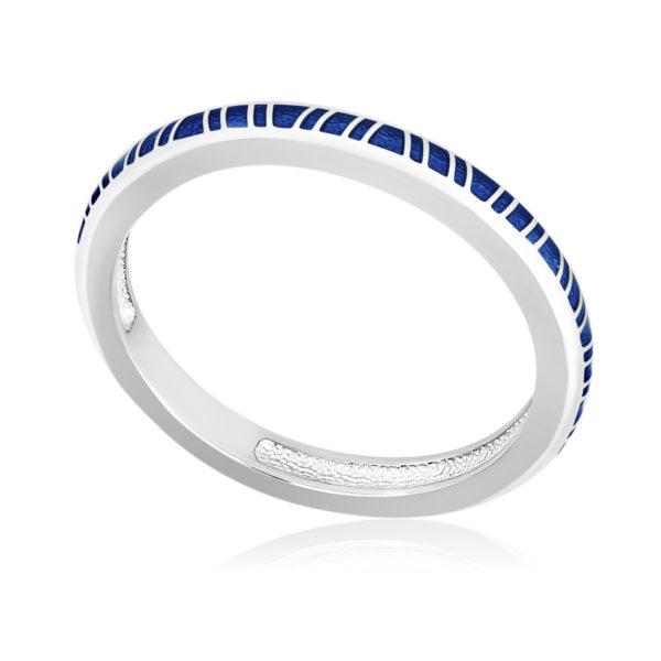 61 153 1s 600x600 - Кольцо «Принцесса на горошине», синее