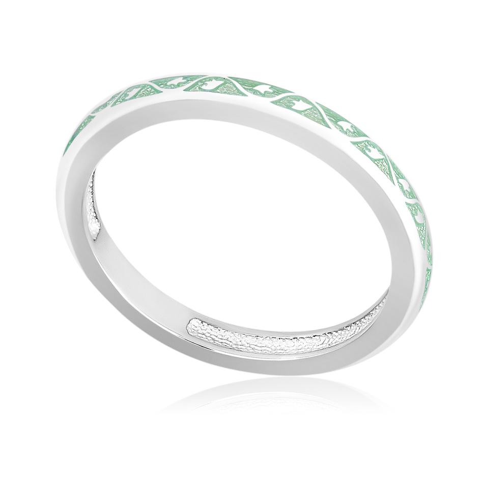 61 155 1s - Кольцо «Принцесса на горошине», мятное