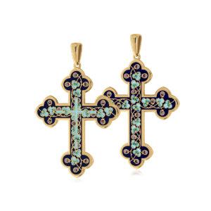 81 123 1z 1200x1200 1 300x300 - Нательный крест (золочение), голубой
