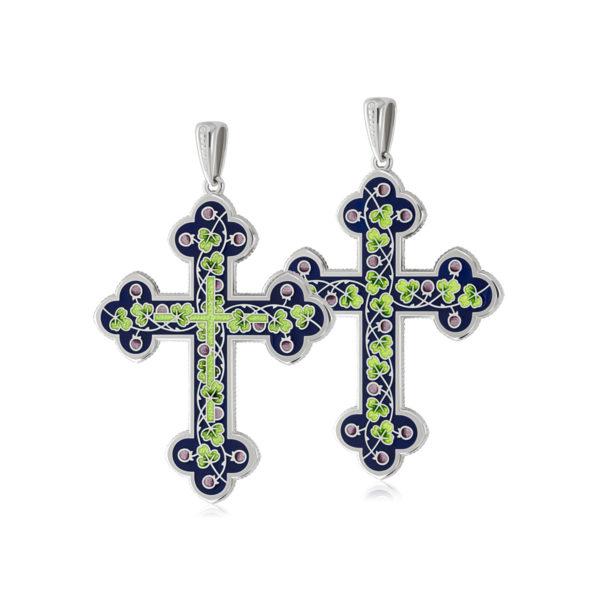 81 123 2s 1200x1200 1 600x600 - Нательный крест, зеленый