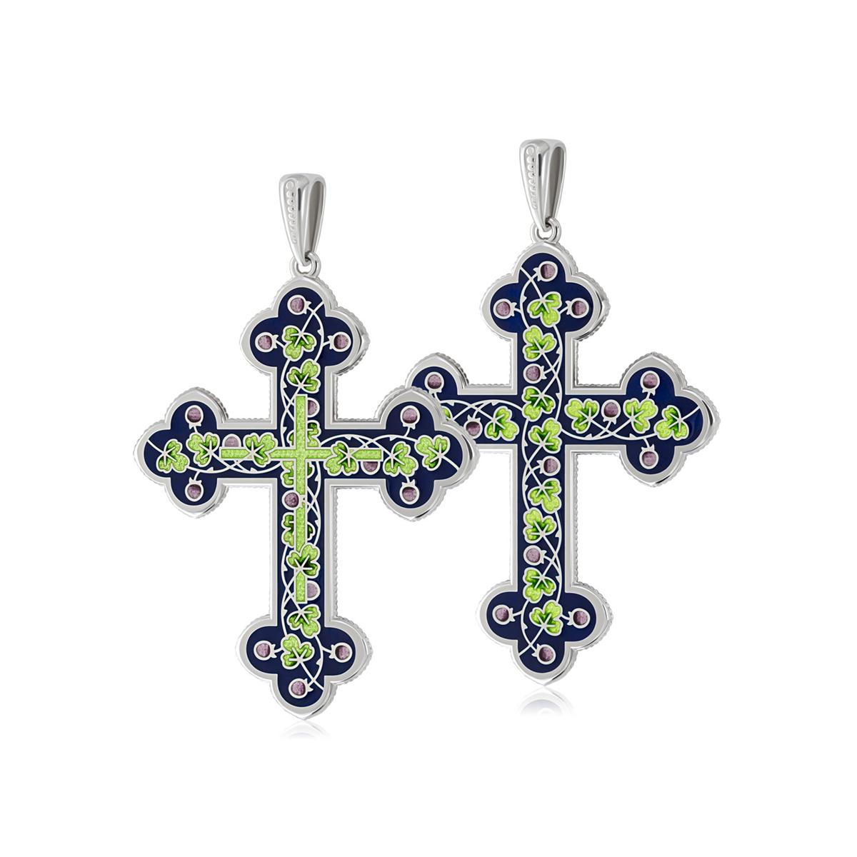81 123 2s 1200x1200 1 - Нательный крест, зеленый