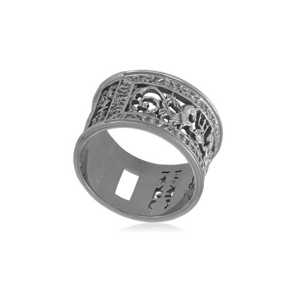 serebro 1 1 600x600 - Кольцо серебряное «Благовещенский мост»