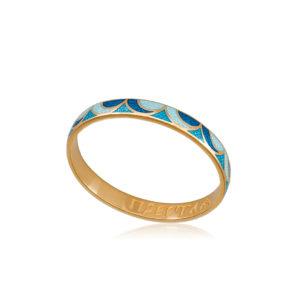 zolochenie sine goluboe 1 1 300x300 - Кольцо из серебра «Седмица» (золочение), сине-голубое