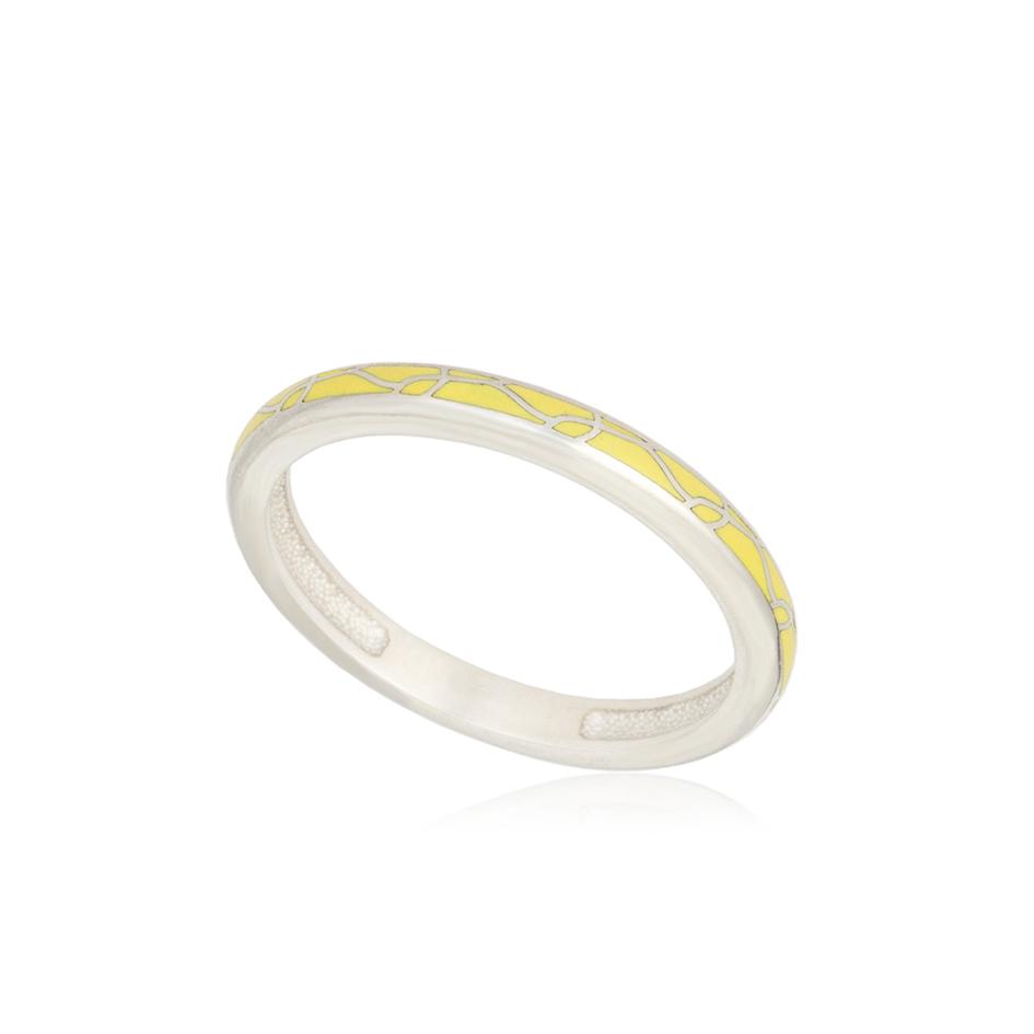 61 157 1s 1 - Кольцо из серебра «Принцесса на горошине», желтое