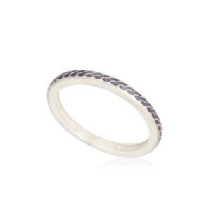 61 158 1s 1 300x300 - Кольцо из серебра «Принцесса на горошине», фиолетовое
