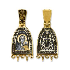 8.09 300x300 - Образок «Казанская икона Божией Матери. Процветший крест»
