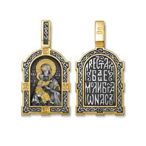8.28 300x300 - Образок «Владимирская икона Божией Матери. Молитва»