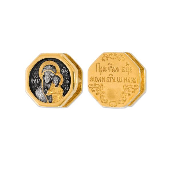 8.40 2 600x600 - Образок «Богоматерь Казанская»
