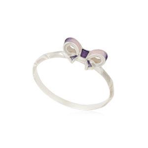 61 203 1s 1 300x300 - Кольцо из серебра «Бантик», розовое