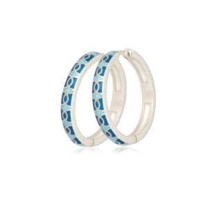 3 33 2s 1 300x300 - Серьги серебряные «Седмица», голубые