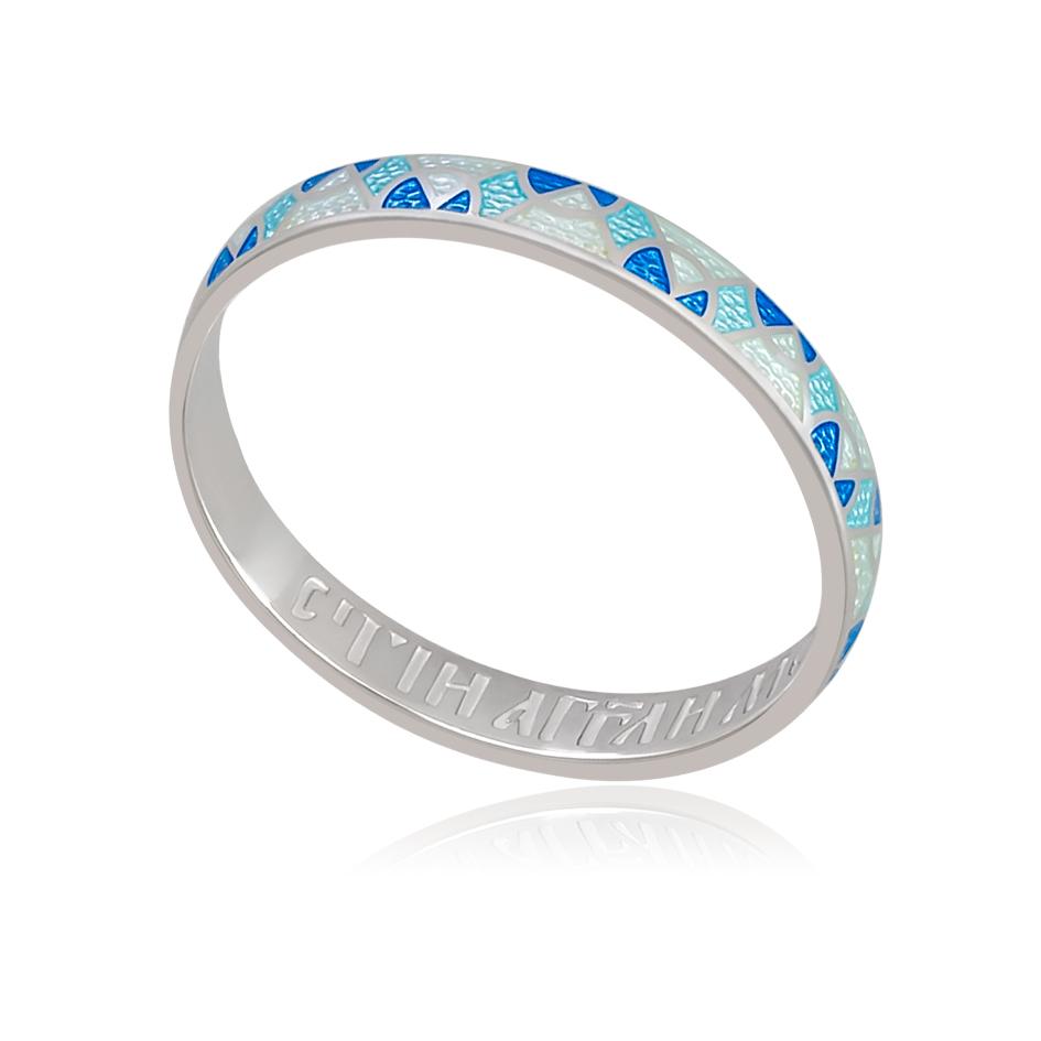 6 30 1s - Кольцо «Седмица», голубая