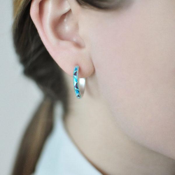serebro golubaya 600x600 - Серьги серебряные «Седмица», голубые
