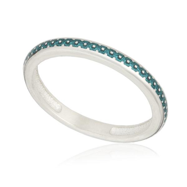 61 154 1s 600x600 - Кольцо «Принцесса на горошине», морская волна